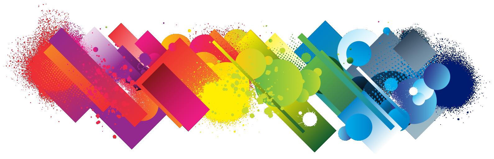 עיצוב גרפי צבעוני